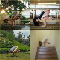 #yoga #namaste #bakasana #crowpose #yogachallenge
