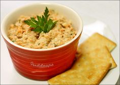 PANELATERAPIA - Blog de Culinária, Gastronomia e Receitas: Patê de Atum