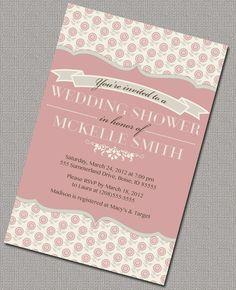 Wedding / Bridal Shower Invitations