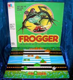 Frogger - all time classic, and proof that simple design is often the best/most enjoyable/accessible.
