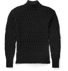 S.N.S. Herning Stark Waffle-Knit Virgin Wool Sweater | MR PORTER