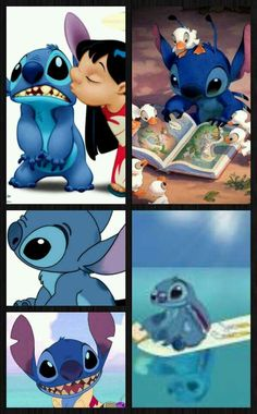 Love stich!!!!! It makes me cry a little not a lot but a little