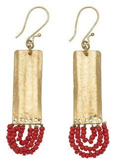 #fashiontakesaction Deco Drop Earrings