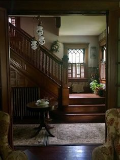 Sisse – Cait_Jenn_books.com Victorian Interiors, Victorian Homes, Victorian Decor, Elegant Home Decor, Elegant Homes, Halls, Decoration Inspiration, Interior Inspiration, Studio Apartments
