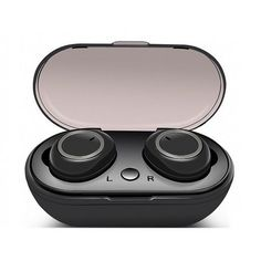 Bluetooth Bi-aural Stereo In-ear Wireless Earphone/Earbuds comes packaged in a sleek charging case which will help you ensure they are always charged and ready to go. Bluetooth, Wireless Earbuds, Gadgets, Gift Ideas, Activities, Mini, Products, Audio, Wireless Headphones