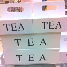 Para guardar las bolsitas de té