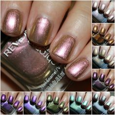 Revlon Chroma Chameleon Collage Revlon Chroma Chameleon Swatches and Review