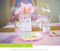 Unicornio centro cumpleaños Unicornio unicornio partido