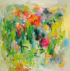 Painting poppies - Yangyang Pan