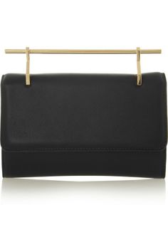 M2Malletier | Fabricca leather clutch | NET-A-PORTER.COM