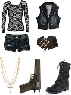 """""""The Walking Dead Outfit No.8"""" by indierosalie ❤ liked on Polyvore"""
