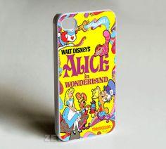 Alice in wonderland Photo print on hard plasticiphone by Zeetta, $13.50