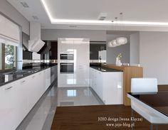 JOJO 4Y*1. Biało-czarna kuchnia glamour. JOJO 4Y - czyli co zrobić żeby otrzymać nieodpłatny projekt wnętrza?