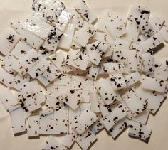 *100 Pieces*  Stained glass tiles 1/2 to 3/4 in size    CHEAP SHIPPING!! NEVER pay more then 5.90 Shipping!! Purchase all you want for this one