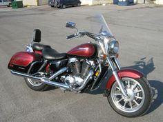 My first motorcycle. 1998 - 1100cc Honda Shadow Ace Tourer - About the funnest ride ever.