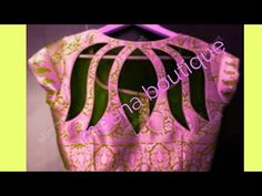 HI FRIENDS How to create a designer blouse in the video How to set back nack design in the blouse This design is a lotus NECK, you can make it in a sari blou. Patch Work Blouse Designs, Neck Designs For Suits, Saree Blouse Neck Designs, Stylish Blouse Design, Fancy Blouse Designs, Simple Embroidery Designs, Stitching Dresses, Hand Designs, Boat Neck