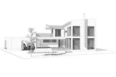 Villa Beauty, muoviton ekopuutalo Villa, Floor Plans, Beauty, Beauty Illustration, Fork, Villas, Floor Plan Drawing, House Floor Plans