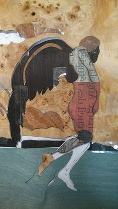 Le blog d'Olivier JAMES: Différentes vues et dessins Fontenay, Collages, Moose Art, Animals, Olive Tree, Drawings, Atelier, Woodwind Instrument, Animales