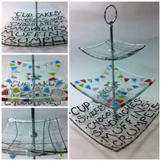 Fantastic bespoke and stylish fused glass by SusannaPatersonGlass, £65.00