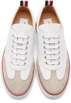279b42dcc3781 Thom Browne - White Toe Cap Sneakers Like  amp  Repin. Noelito Flow. Noel