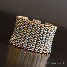 Smadar's Treasure: Dramatic SuperDuo Bracelet