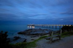 Lorne Jetty during blue hour. Lorne is a popular costal town in Victoria along the Great Ocean Road which attracts a lot of tourists wanting to get away for a short holiday. #lorne #jetty #blue #bluehour #victoria #vic #greatoceanroad #seegor #seeaustralia #amazing_australia #australiagram #aussiephotos #exploreaustralia #canonaustralia #wow_australia #ig_australia by jim_tavasci_photography