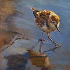 """Sandpiper Stroll"" by Robin Peterson"