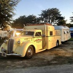 Vintage camping at its best!