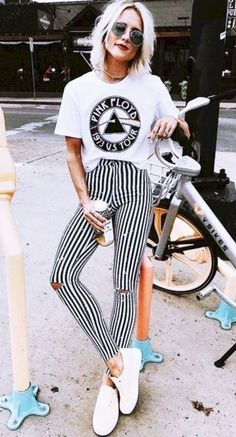 Best Punk outfits ideas - vintagetopia Clothes are something that makes you look even more special, and your wardrobe will appear classy with a grand assortment of vintage clothes. Punk Outfits, Street Style Outfits, Fashion Outfits, Gym Outfits, Cute Spring Outfits, Simple Outfits, Pretty Outfits, Casual Outfits, Amazing Outfits