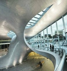 Stunning Arnhem Central Transfer Terminal Completed by UNstudio- building, interior, architecture