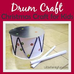 Little Family Fun: D is for DRUMS