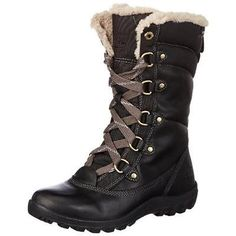 #Shoes #Apparel Timberland 3580 Womens Mount Hope Black Winter Boots Shoes 6.5 Medium (B,M) BHFO #Christmas #Gifts