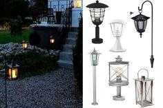 Oświetlenie ogrodu - latarenki ogrodowe