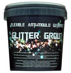 Glitter Grout - Must grout everything!