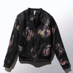 a560879e44 30% Off adidas Selena Gomez Flower Bomber Jacket