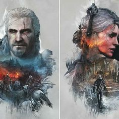 I've never played The Witcher 3. It looks beautiful, but is it good story and gameplay wise? Also, do any of you have a PS3/PS4? Drop your name below and I'll add you if so. 😊 • • • (Awesome Geralt and Ciri by Scratcherpen on Deviantart) #thewitcher #thewitcher3 #geraltofrivia #geralt #ciri #playstation #ps4 #gaming