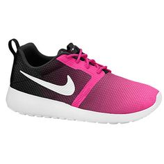Nike Roshe One Flight Weight Kids' Shoe from Nike. Saved to Nike / Under Armour👌😍. Nike Shoes Cheap, Nike Free Shoes, Cheap Nike, Pink Running Shoes, Site Nike, Nike Roshe Run, Discount Nikes, Nike Shoes Outlet, School Shoes