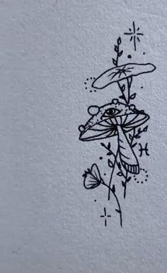 Line Art Tattoos, Tattoo Flash Art, Body Art Tattoos, Tatoos, Dainty Tattoos, Pretty Tattoos, Small Tattoos, Dr Tattoo, Doodle Tattoo