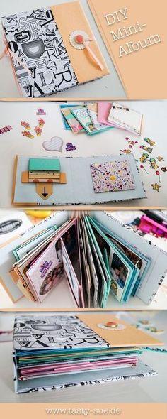 DIY Mini-Album - das perfekte persönliche und individuelle Geschenk