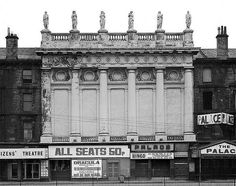Gorbals Street, Citizens Theatre and Palace Theatre - March 1977 by Gordon Waddell, via Flickr