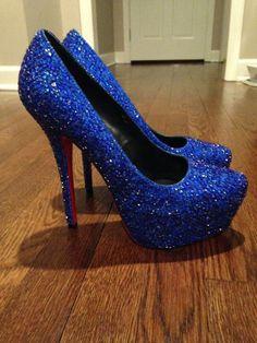 watch 2f81e c27aa 1-11 (525x700, 416Kb) Zapatos De Tacón Azules, Zapatos Mujer Azul