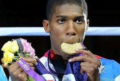 Anthony Joshua gold in Super Heavyweight boxing Heavyweight Boxing, Anthony Joshua, Free Youtube, Commercial, Science, London, Ethnic Recipes, Sweet, Gold