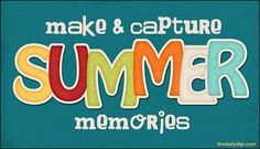 summer scrapbook ideas | some ideas for making & capturing summer memories, from The Daily Digi