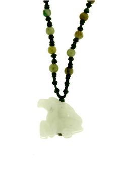 Horse Jade Necklace  Born: 1942, 1954, 1966, 1978, 1990, 2002, 2014 - Optimistic and a good leader