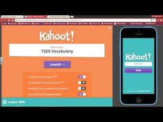 Kahoot! Tutorial: can be used in all subject areas as a pre\post assessment, or for discussion