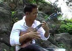 """Jake Shimabukuro playing """"While My Guitar Gently Weeps"""" on the ukulele. ONLY the ukulele! Cool Ukulele, Ukulele Songs, Music Covers, My Escape, George Harrison, Playing Guitar, Music Artists, The Beatles, My Music"""