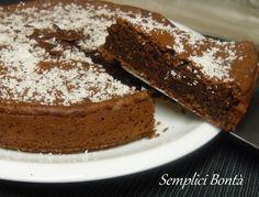 Torta al cioccolato e latte di cocco - Chocolate cake and coconut milk