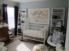 Sophisticated nursery