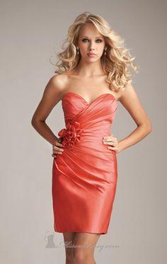 beautiful Allure bridesmaid dress.