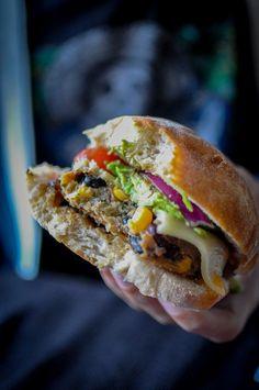 Tabasco Double Bean Veggie Burger